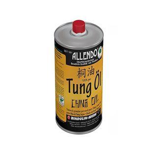 Tungöl - Holzöl - biologisches Naturprodukt lebensmittelecht (250 ml) inkl. Pinsel zum Auttragen von E-Com24