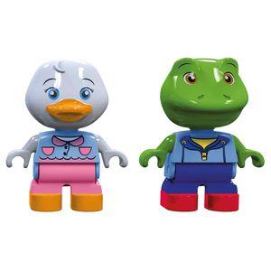 Aquaplay 235 2er Figurenset Ente und Frosch