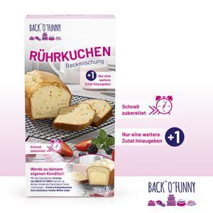BACK O FUNNY BACKOFUNNY BACKOFUNNY Backmischung Backcreme TryMe Set Kuchen