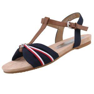 Tom Tailor Sandale  Größe 41, Farbe: navy