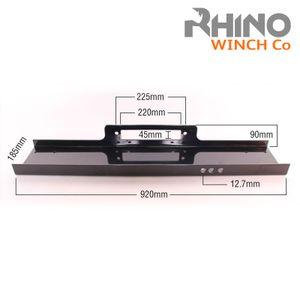 Rhino - Robuste Montageplatte für Seilwinde - geeignet für eine Zugkraft von 13.500 lb / 6.125 kg