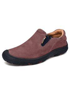Outdoor-Freizeit Schuhe Für Herren Verschleißfeste Sport Schuhe Leichte Offroad-Schuhe,Farbe: Weinrot ,Größe:48
