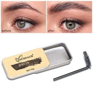 Augenbrauen-Styling-Seifengel 3D Feathery Brows Shaping Cream, wasserfestes, dauerhaftes Augenbrauen Gel Augenbrauen Make up Kit