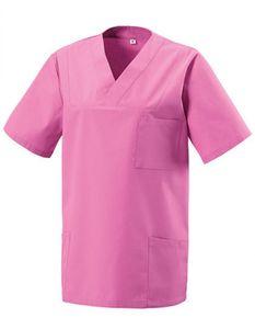 Schlupfkasack - Bügelleicht- und Softausstattung - Farbe: Hot Pink - Größe: L