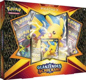 Pokemon Kollektion Pikachu-V Box Glänzendes Schicksal