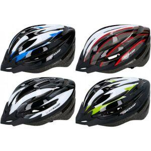 Dunlop Helm Größe M = 55 - 58cm Blau Fahrradhelm Radhelm Rennrad MTB Skaterhelm Roller Rad