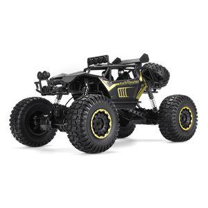 VONDA 1:8 RC Fahrzeuge Monster Truck 50cm ferngesteuertes 50cm Auto Buggy Geländewagen Allradantrieb Spielzeug Geschenk, Farbe: Schwarz