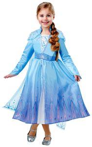 Frozen 2 Elsa Deluxe Die Eiskönigin Kinder Karneval Fasching Kostüm 116