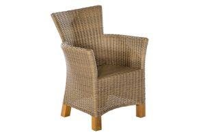 Merxx Toskana Sessel, natur, 2er Set, natur - Maße: 65 x 66 x 89 cm; 2x 28400-211
