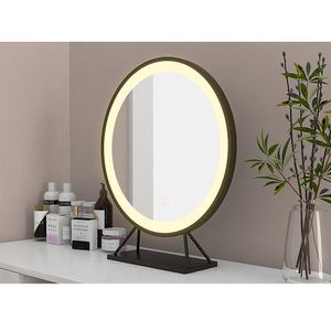 Schminkspiegel Kosmetikspiegel mit LED Beleuchtung Dimmbar Make Up Schminkspiegel Schminktisch Beleuchtung 50cm