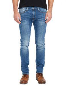 Mustang Oregon Tapered K Herren Slim Fit Sweat Jeans / Used-Finish , Größe*:W33 L30