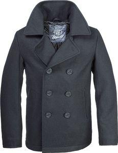 Brandit Jacke Pea Coat  in Black-7XL