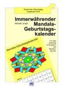 Immerwährender Mandala-Geburtstags-Kalender