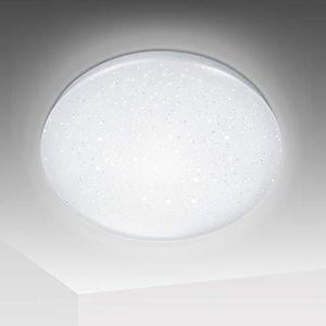 Wolketon 50W LED Deckenlampe Sternenhimmel Deckenleuchte Wohnzimmer Kueche IP44 Kaltweiss
