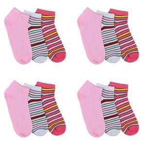 Ital-Design Damen Strümpfe Socken Rosa Gr.35/38