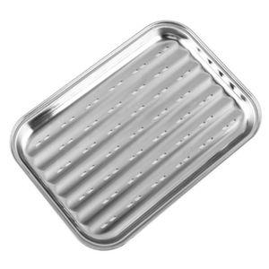 BBQ Grillplatte Grillschale Edelstahl