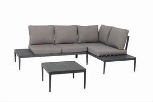 Gartenmöbel / Lounge Set acamp Swan Lounge Aluminium anthrazit