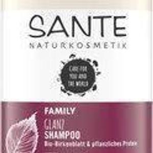 SANTE Family Glanz Shampoo Bio-Birkenblatt & pflanzliches Protein noch mind. 4 bis max. 9 Monate haltbar