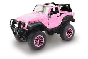RC Pink Driverz Jeep Wrangler 1:16