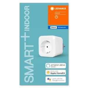 LEDVANCE SMART+ PLUG EU Funksteckdose Bluetooth 8,5 cm Weiß