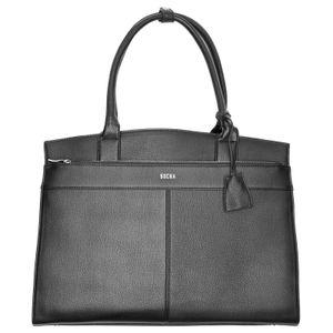 SOCHA  Iconic Business-Handtasche 45 cm - Schwarz