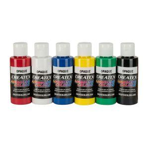 Createx Airbrushfarben opak beginners Starter Set 115299 Airbrush Farbe