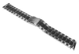 Timex Uhrenarmband Edelstahl Band hochglanz/matt T2N557 T2N560 T2N561