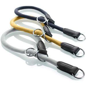 Hunter Dressurhalsband Eiby Freestyle versch. Farben und Größen, Größe:M-L, Farbe:gelb