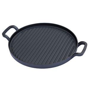 TAINO PLATINUM Flex Grillpfanne Gusseisen Pfanne Gusspfanne Zubehör Gasgrill BBQ