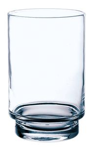 INNA-Glas Kerzenglas BOB, transparent, 18,5cm, Ø 12cm - Bodenvase / Stumpenkerzenständer