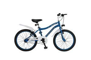 20 Zoll Kinder Fahrrad Kinderfahrrad Kinder Rad Beleuchtung Stvo Rücktrittbremse Power Blau