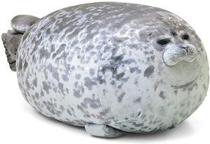 Cute Plush Seal Pillow, Robbe Kissen Plüschtier-Schlafkissenspielzeug, Seehund Kissen Mit Molliger Plüschfüllung
