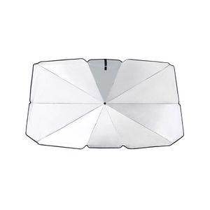 Auto Windschutzscheibe Sonnenschirm Regenschirm Faltbarer Auto Sonnenschirm Block Wärme UV,125 * 110 * 65 cm