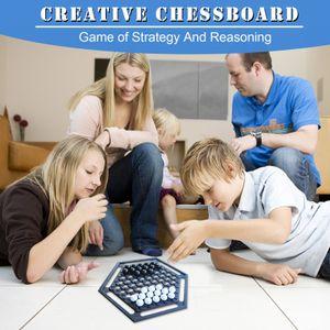 Brettspiel Classic Push Chess Strategie Bewegung Kinder Lernspielzeug