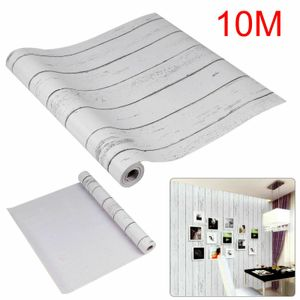 10M Möbelfolie Klebefolie Küche Schrank Küchen Selbstklebend Streifen PVC