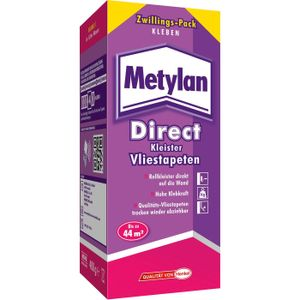 METYLAN Direct Vliestapeten-Kleister spritzarmer Rollkleister, 400 g
