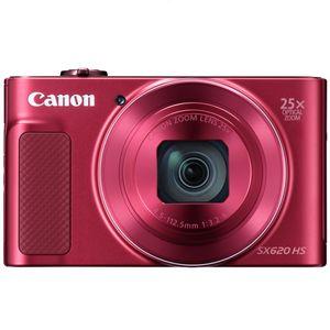 Canon PowerShot SX620 HS Kompaktkamera, Farbe:Rot