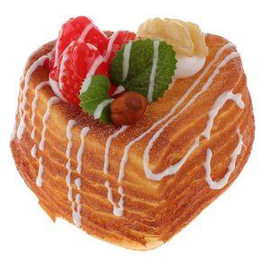 Künstliche PolyurethanSchaum Brötchen Brot Bäckerei Kinder Kaufladen Zubehör Style_3 面包 水果 小 面包 L wie beschrieben