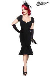 Belsira Retro Kleid - schwarz, Größe:3XL
