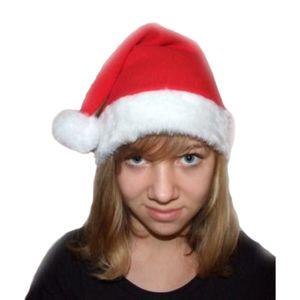 Nikolaus Weihnachtsmütze mit Bommel