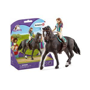 Schleich Horse Club Lisa und Storm Spielfigur