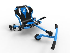 EzyRoller Drifter X Fun Fahrzeug Kinderfahrzeug Dreirad Kinder Trike Funfahrzeug, Farbe:blau