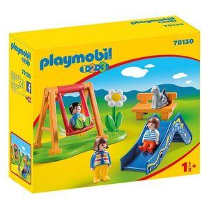 PLAYMOBIL 1, 2, 3 - Spielplatz (70130)