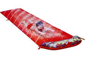 """Bestway® Wasserrutsche """"Speedway"""" mit Sprinkler, rot, 488 cm"""