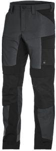FHB LEO Artbeitshose elastisch,  anthrazit-schwarz, 122110-1220 : Größe 88 Größe: 88