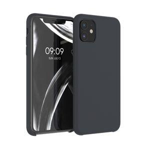 kwmobile Hülle kompatibel mit Apple iPhone 11 - Hülle Handyhülle gummiert - Handy Case in Schwarz