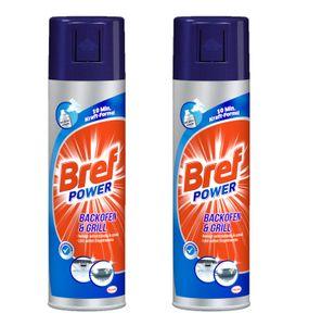 Sidol Bref Power Backofen & Grill Reiniger 2x500 ml Reinigungsmittel Sauberkeit