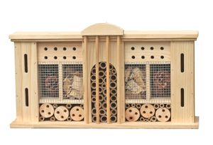 Insektenhotel VILLA zum aufhängen - ca. 50 x 12,5 x 28 cm