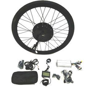 """Theebikemotor 48V1500W Elektro-Fahrrad Umbausatz + LCD + Reifen + Scheibenbremse 29"""" Hinterrad"""