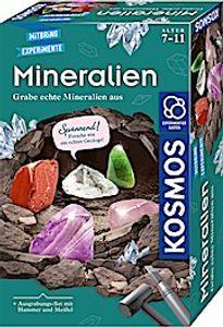 Kosmos Mineralien Ausgrabungs-Set Ab 7 Jahren